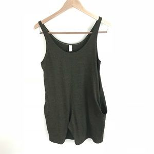 Urban Outfitters Pants - •American Apparel Urban Outfitters Olive Romper